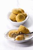 Crocchette di riso (Stuffed rice croquettes, Italy)