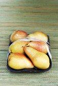 Williams pears in packaging