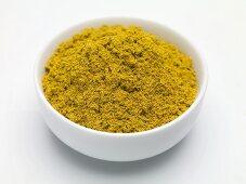 Seasoning mixture (Colombo Powder) in a small bowl