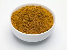 Seasoning mixture for erotic food in a small bowl