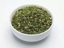 Dried salad herbs