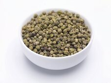 Green peppercorns (unground)