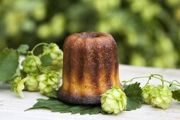 Cannelé (Small cake with vanilla and rum, France)