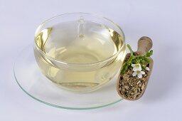 Watercress tea (Nasturtium officinale)