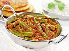 Okra curry (India)
