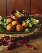 Tod Mun Pla (deep-fried fish balls, Thailand)