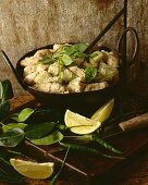 Kaeng Phet Kai (chicken curry, Thailand)