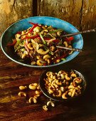 Beef with cashew nuts (Thailand)