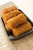 Oven-baked potato croquettes