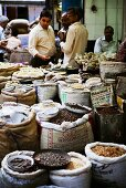Spice market (Khar Baoli Marg), Old Delhi, India