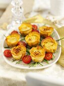 Mini cottage pies for Christmas