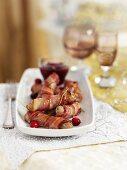 Pigs in blankets for Christmas dinnner