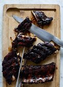 Spareribs with a balsamic marinade