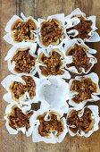 Engadine walnut tarts
