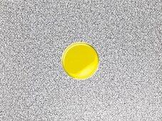 Mustard oil in a bowl