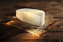Brillant Savarin, French cream cheese made from cow's milk
