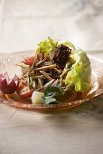 Salpicon (salad with beef, chilli and vegetables)