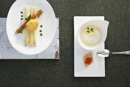 Variations on asparagus
