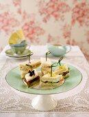 Canapes for English tea