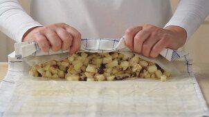 Making apple strudel (German Voice Over)