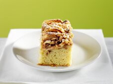 A Piece of Apple Coffee Cake