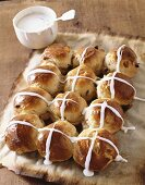 Freshly Frosted Hot Cross Buns