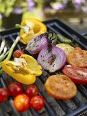 Assorted Vegetables on the Grill