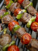 Beef Kabobs on the Grill