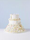 Candy Dots Wedding Cake