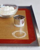Biscuit Cutter with Flour