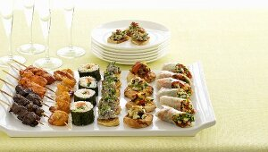 Assorted appetisers