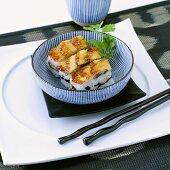 Three oshi sushi