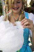 Girl with candyfloss (Oktoberfest, Munich)