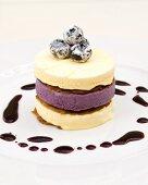 Blueberry and vanilla parfait