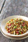 Orzo Asian Rotisserie Chicken Salad