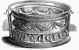 Festive pie dishes (Illustration)