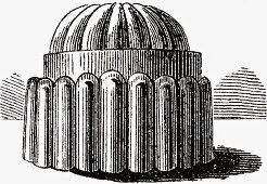 Blancmange mould (Illustration)