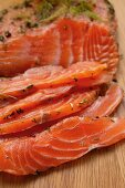 Graved lachs with dill