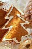 Gingerbread fir trees