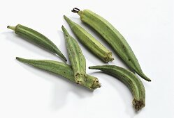 Okra pods (also called Gumbo)