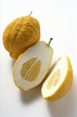 Citrons, whole and halved