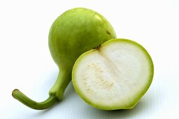 Half and whole nam tao (Bottle gourd)