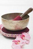 A singing bowl