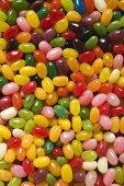 Coloured jelly beans (full-frame)