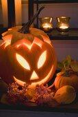 Halloween decoration: pumpkin lantern