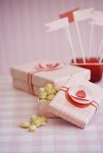 Valentine's Gift Boxes of Toffee Covered Macadamia Nuts