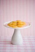 Toffee Candy on Pedestal Dish