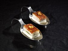 Red snapper with tahiti vanilla on cool coconut milk