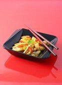 Red Indigo chicken curry