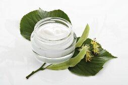 Lime blossom face cream